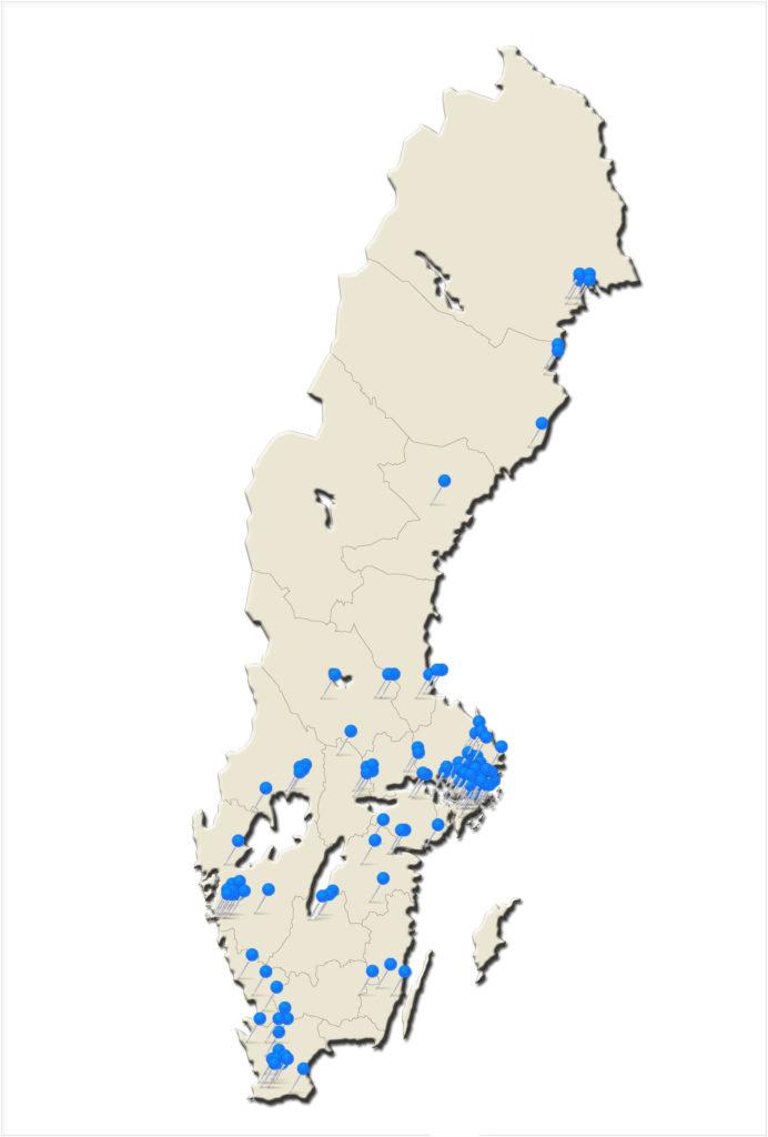 Focusscreen Sales Sweden 2014-2106