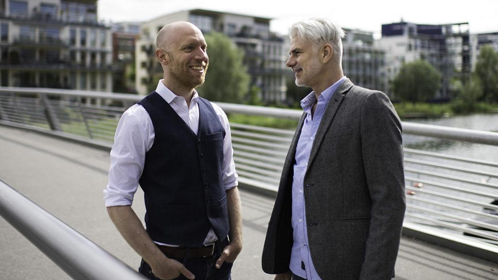 Örjan Gruden ja Jens Franzén